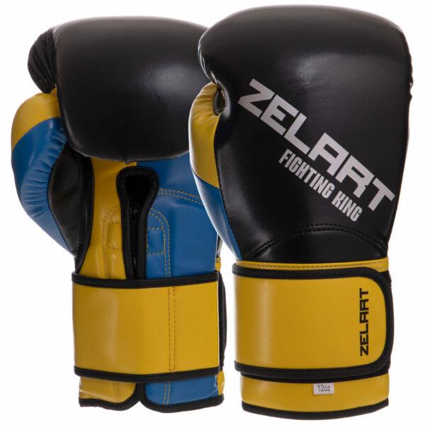Перчатки боксерские Zelart BO-2887 10-14 унций цвета в ассортименте