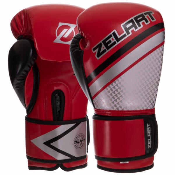 Перчатки боксерские Zelart BO-2888 10-14 унций цвета в ассортименте