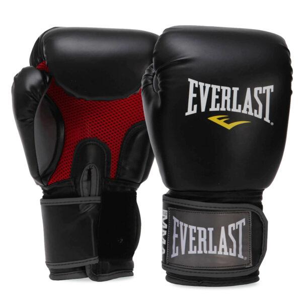Перчатки боксерские EVERLAST PRO STYLE MUAY THAI 7012 8-16 унций черный