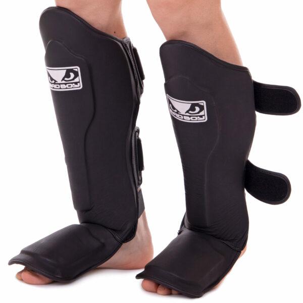Защита голени и стопы для единоборств BDB VL-6623 M-XL черный