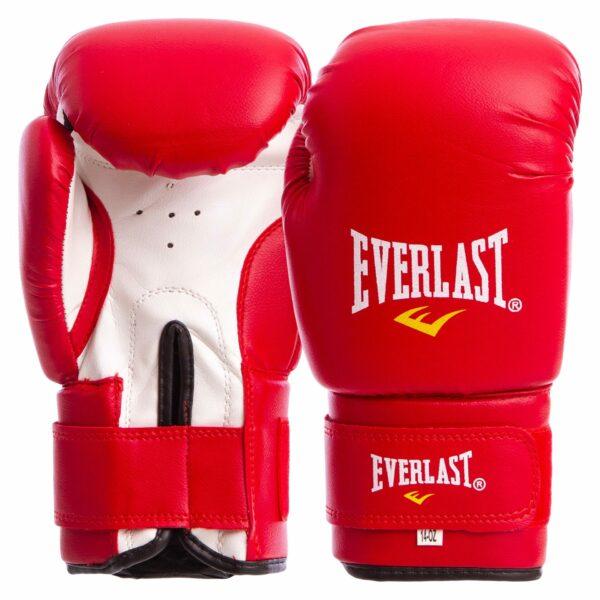Перчатки боксерские ЮНИОР MA-0033 ELS 4-14 унций цвета в ассортименте