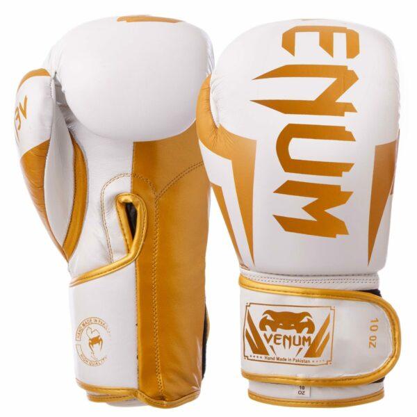 Перчатки боксерские кожаные VNM ELITE VL-8291 10-12 унций цвета в ассортименте