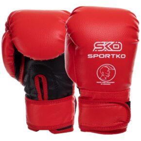 Перчатки боксерские детские SPORTKO PD-2-B 4-7 унций цвета в ассортименте
