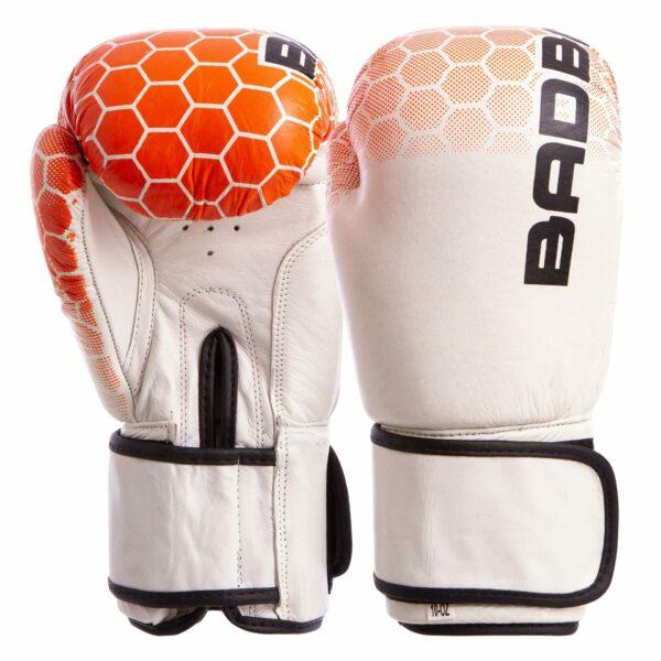 Перчатки боксерские кожаные BDB MA-5434 10-14 унций цвета в ассортименте