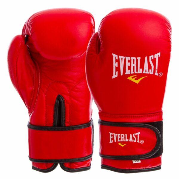 Перчатки боксерские кожаные ELS BO-4748 8-12 унций цвета в ассортименте