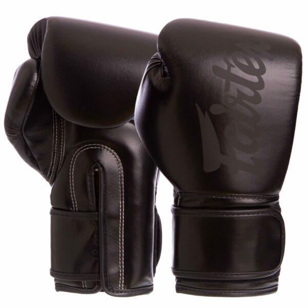Перчатки боксерские FAIRTEX BGV14SB 10-16 унций черный