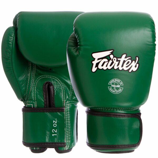 Перчатки боксерские кожаные FAIRTEX BGV16 10-14 унций цвета в ассортименте