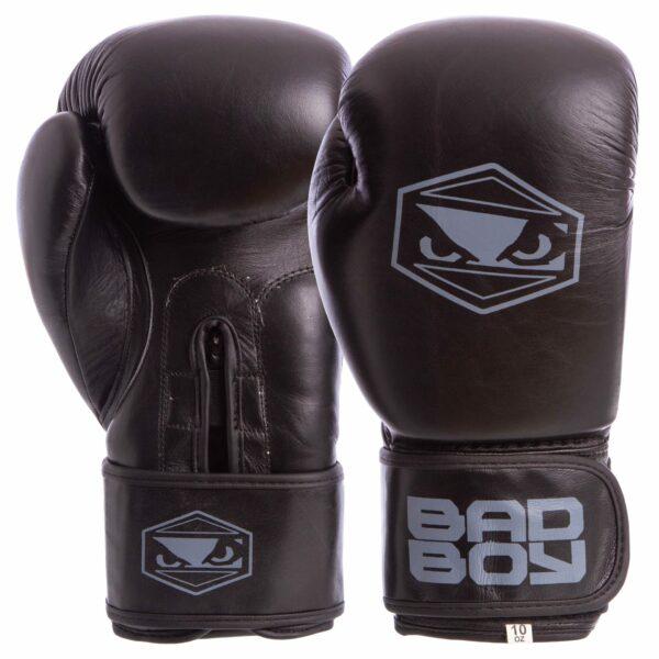 Перчатки боксерские кожаные BDB STRIKE VL-6615 10-14 унций цвета в ассортименте