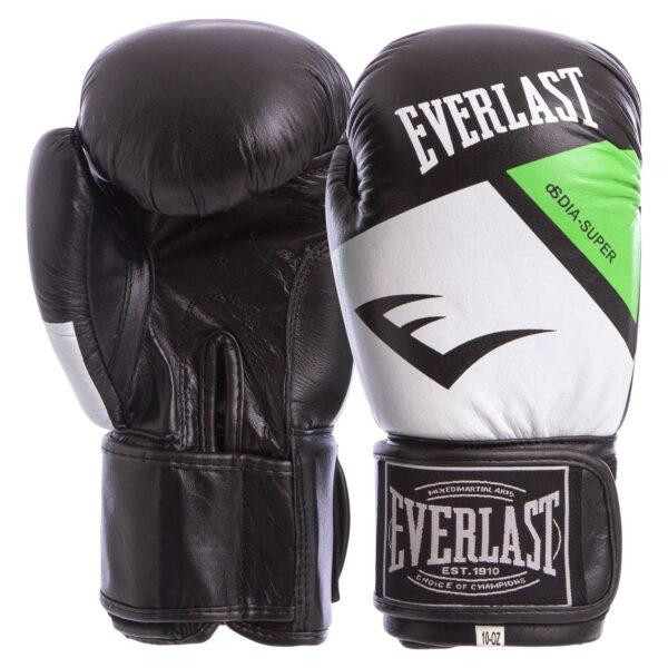 Перчатки боксерские кожаные ELS MA-6748 10-14 унций цвета в ассортименте