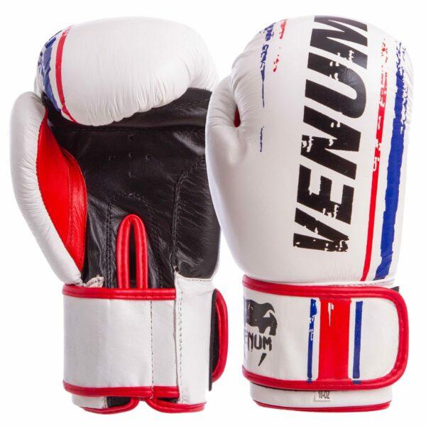 Перчатки боксерские кожаные VNM MA-6749 10-14 унций цвета в ассортименте