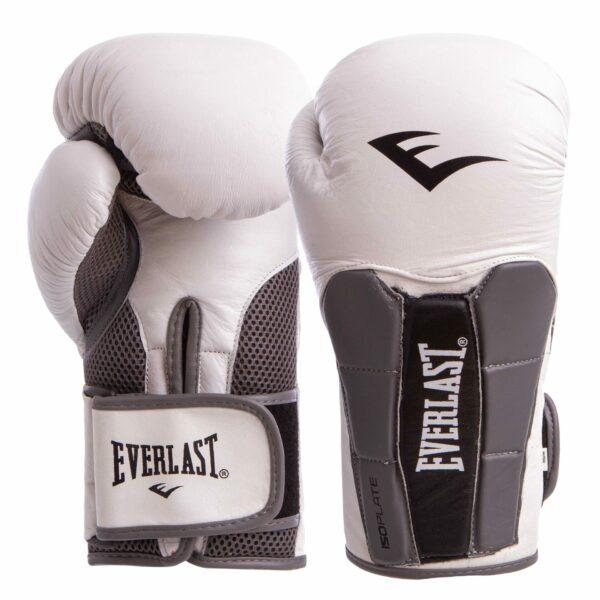 Перчатки боксерские кожаные ELS MA-6759 10-12 унций цвета в ассортименте