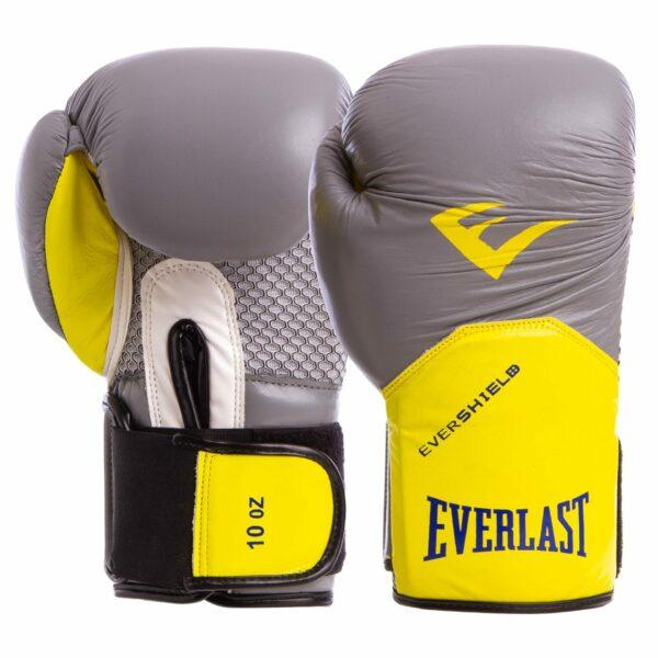 Перчатки боксерские кожаные ELS PRO STYLE ELITE BO-5228 10-12 унций цвета в ассортименте