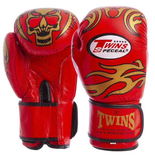 Перчатки боксерские кожаные TWN MA-5436 8-12 унций цвета в ассортименте