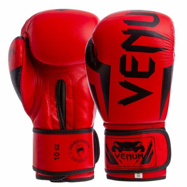 Перчатки боксерские кожаные VNM ELITE NEO BO-5238 10-14 унций цвета в ассортименте