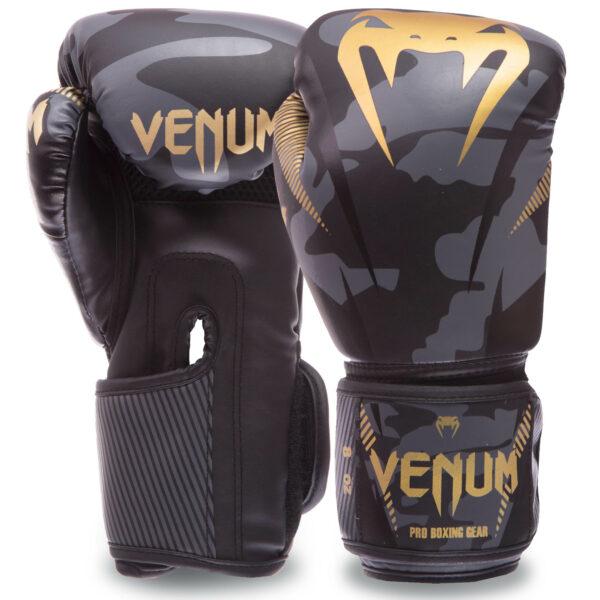 Перчатки боксерские VNM IMPACT BO-0870 8-12 унций черный