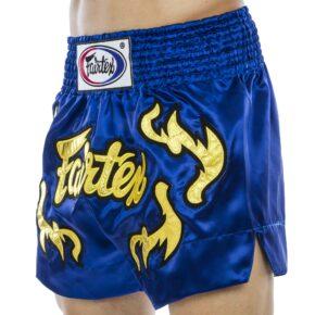 Шорты для тайского бокса и кикбоксинга FAIRTEX BS0664 S-2XL синий