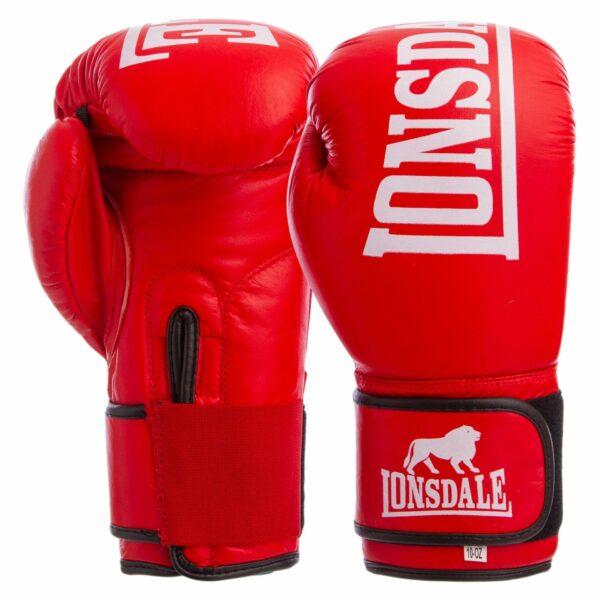 Перчатки боксерские кожаные LND MA-6760 10-12 унций цвета в ассортименте