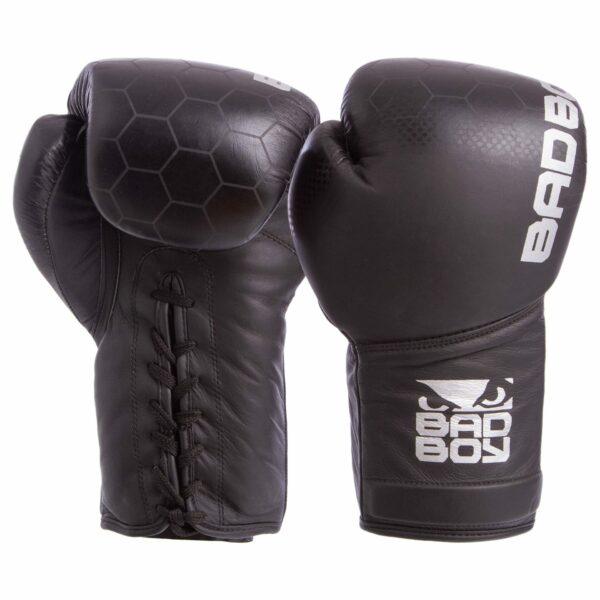 Перчатки боксерские кожаные професиональные на шнуровке BDB LEGACY 2.0 VL-6619 10-14 унций цвета в ассортименте