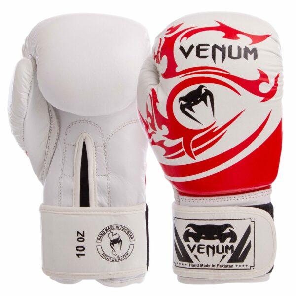 Перчатки боксерские кожаные VNM TRIBAL VL-5777 10-14 унций цвета в ассортименте