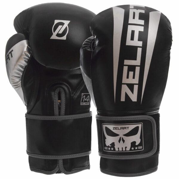 Перчатки боксерские Zelart BO-1323 10-14 унций цвета в ассортименте