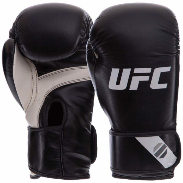 Перчатки боксерские UFC PRO Fitness UHK-75027 12 унций черный