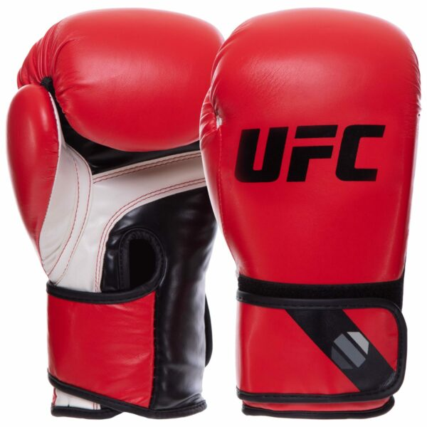 Перчатки боксерские UFC PRO Fitness UHK-75031 12 унций красный