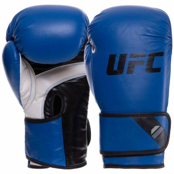 Перчатки боксерские UFC PRO Fitness UHK-75037 16 унций синий