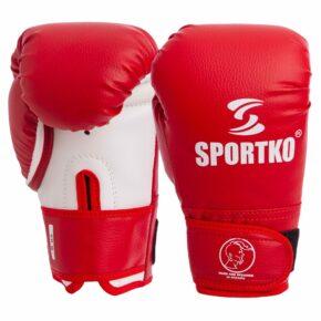 Перчатки боксерские SPORTKO PD-2-M 8-12 унций цвета в ассортименте