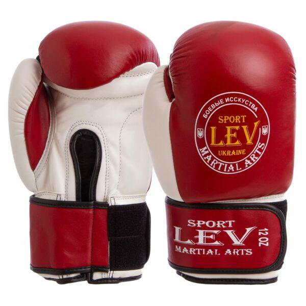 Перчатки боксерские LEV UR LV-4281 10-12 унций цвета в ассортименте