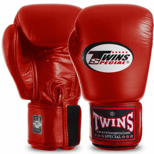 Перчатки боксерские кожаные TWINS BGVL3 12-20 унций цвета в ассортименте