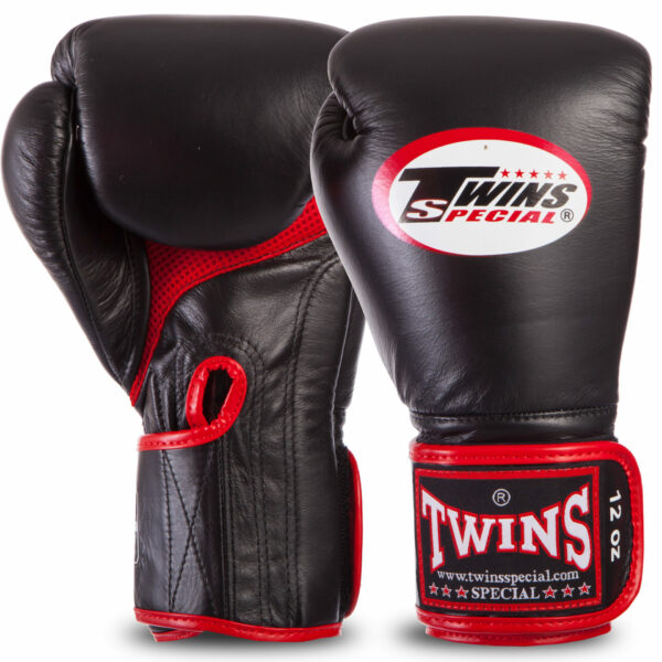 Перчатки боксерские кожаные TWINS BGVLA1 12-16 унций цвета в ассортименте