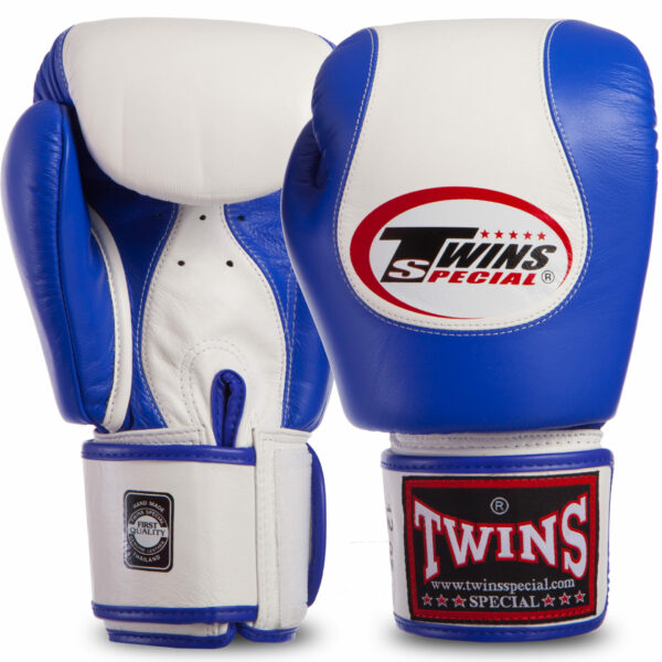 Перчатки боксерские кожаные TWINS BGVL9 12-16 унций цвета в ассортименте