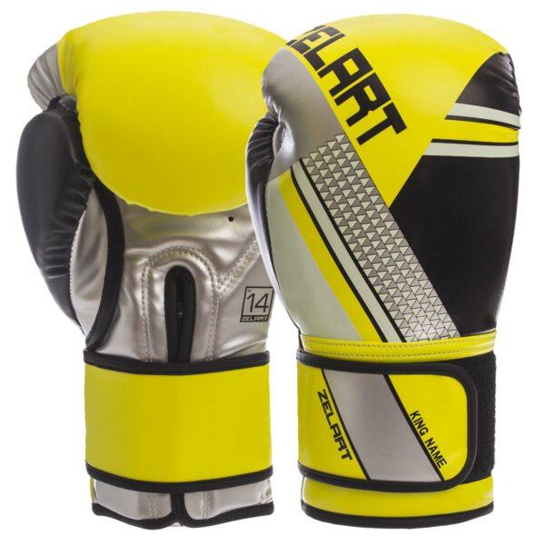 Перчатки боксерские Zelart BO-1335 10-14 унций цвета в ассортименте