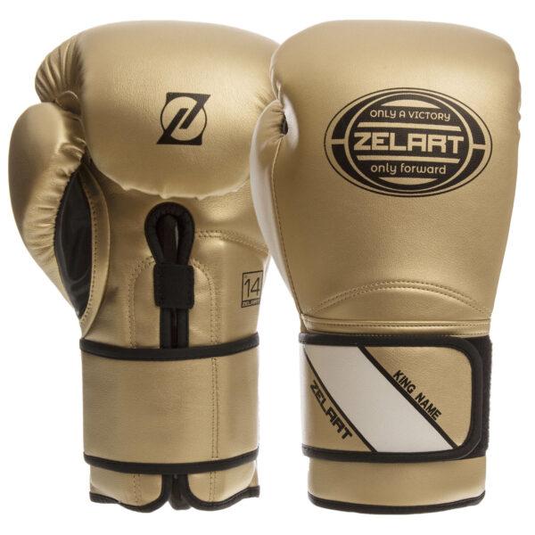 Перчатки боксерские Zelart BO-1361 10-14 унций цвета в ассортименте
