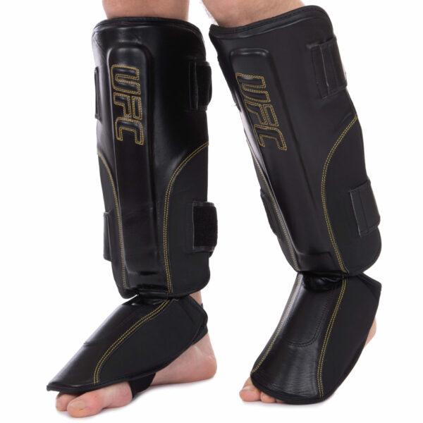 Защита голени и стопы для единоборств UFC PRO Prem Stand Up UHK-75052 S-M черный