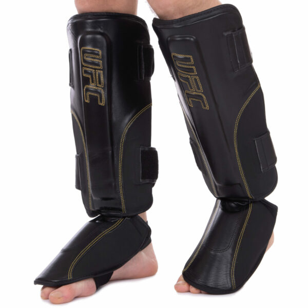 Защита голени и стопы для единоборств UFC PRO Prem Stand Up UHK-75053 L-XL черный