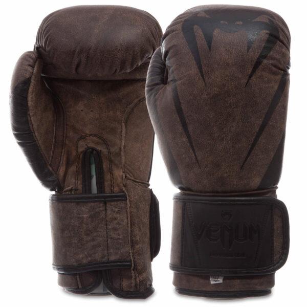 Перчатки боксерские кожаные VNM MA-0700 10-14 унций цвета в ассортименте