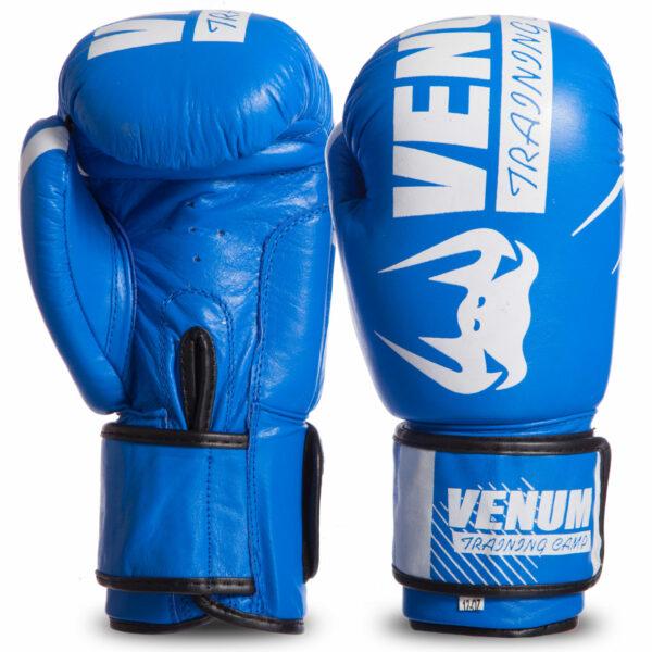 Перчатки боксерские кожаные VNM MA-0701 10-14 унций цвета в ассортименте