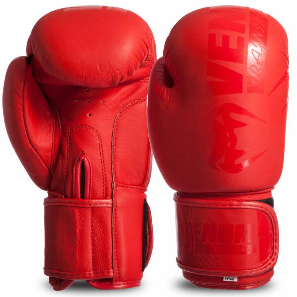 Перчатки боксерские кожаные VNM MA-0703 MATT 10-14 унций цвета в ассортименте