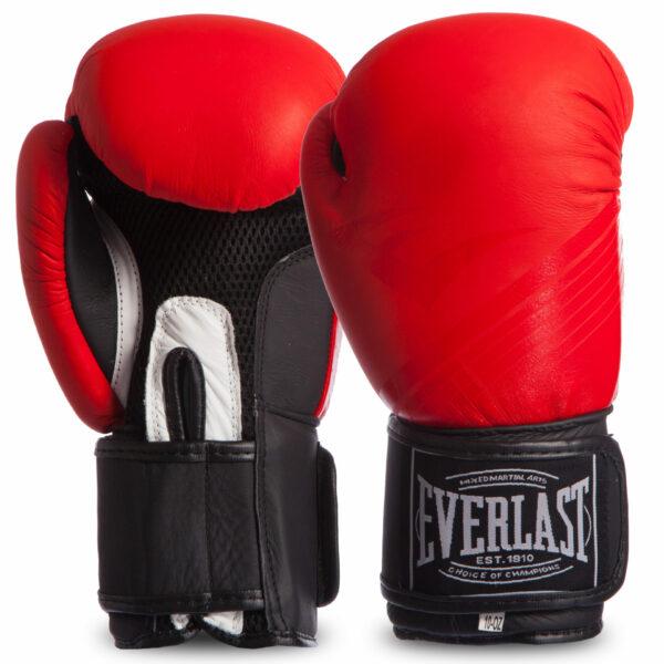 Перчатки боксерские кожаные ELS MA-0704 MATT 10-12 унций цвета в ассортименте