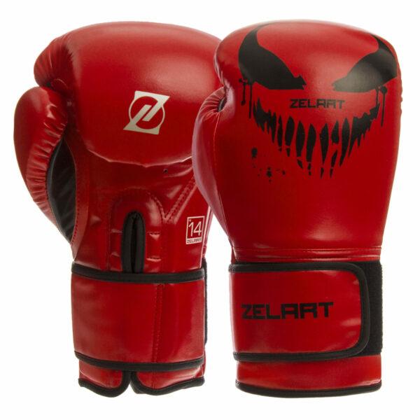 Перчатки боксерские Zelart BO-1370 10-14 унций цвета в ассортименте