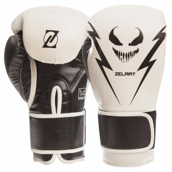 Перчатки боксерские Zelart BO-1420 10-14 унций цвета в ассортименте