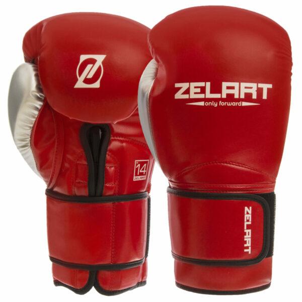 Перчатки боксерские Zelart BO-1384 10-14 унций цвета в ассортименте